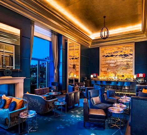 Drinks at the St. Regis Bar